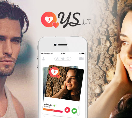 Dating app Ys.lt