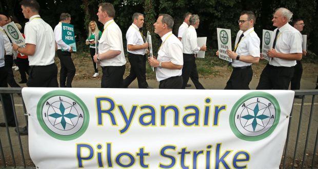 ryanair pilots strike