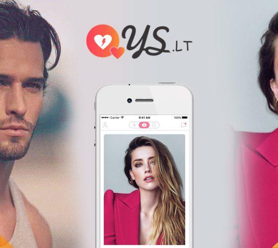 App de rencontre. Dating app ys.lt