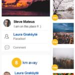 zingr app newsfeed