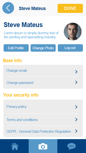 zingr app user profile