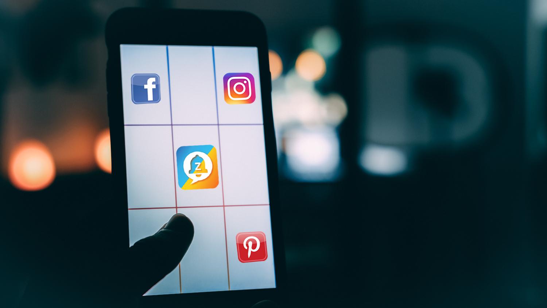 social-media apps. Nearby Facebook friends