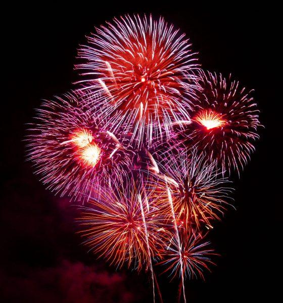 fireworks in UK
