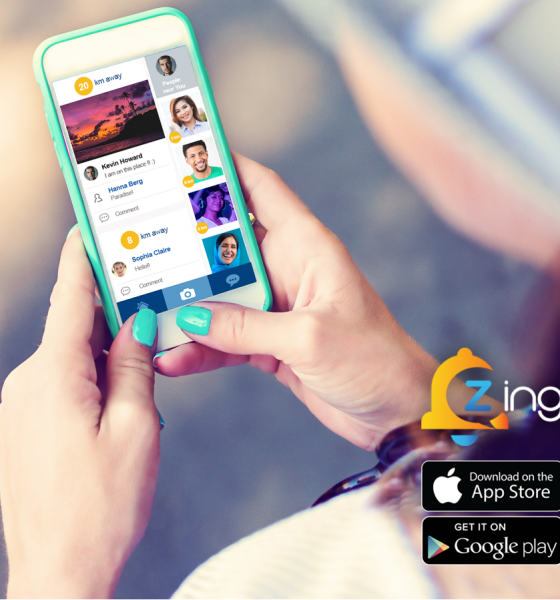 Meet people IOS app Zingr connects people near me