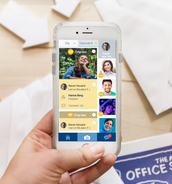 Find new friends during quarantine - zingr app