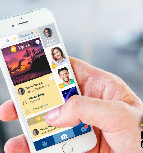 Meet people in UK social dating app ZINGR