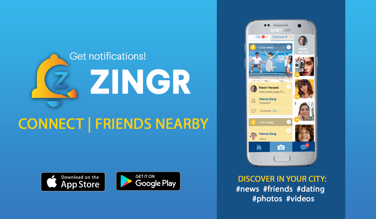ZINGR - app for friendship in UK