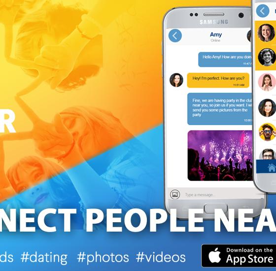 Meet friends in UK ZINGR app