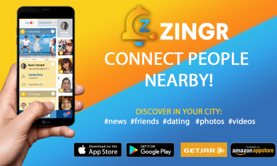 hyper local social network ZINGR