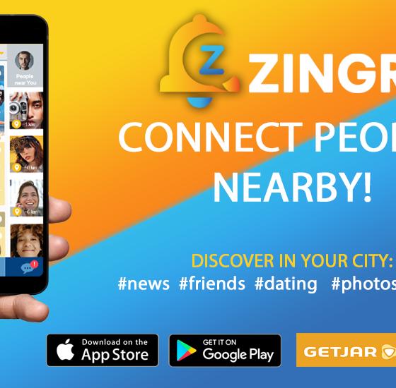 hyper local social network ZINGR