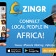 Find friends in Africa. ZINGR app