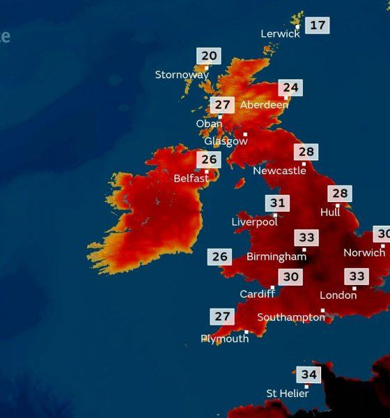 hot in UK